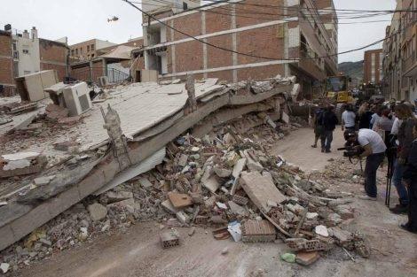 Barrio de La Viña, especialmente afectado.