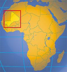 """La preocupación de Francia, EEUU y la OTAN sobre Mali """"además de sus estratégicas explotaciones de oro y uranio"""" es su efecto dominó sobre Níger, Argelia, Burkina Faso y Libia."""