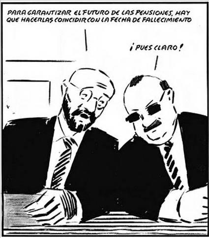 Bruselas exige recortar ya las pensiones