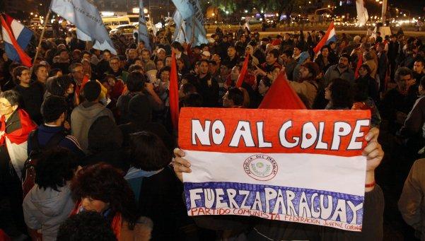 El gobierno de Lugo colocó a Paraguay al lado de los países hispanos que están avanzando hacia una mayor autonomía respecto a EEUU. Por eso estaba en el punto de mira de Washington.