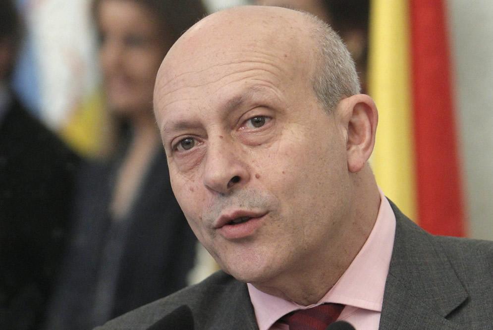 El ministro Wert