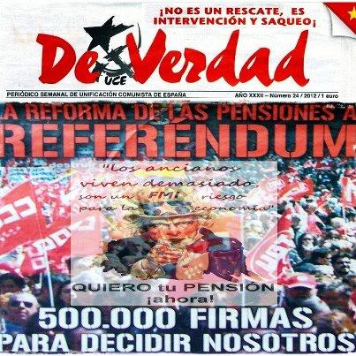 Para participar en la campaña bájate la hoja para recoger las 500.000 firmas en: http://www.deverdadcontralacrisis.uce.es/docs/25%20hojafirmaspensiones_junio2012. pdf