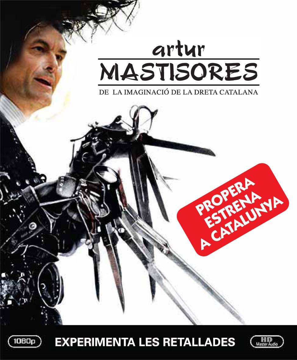 """El mismo Artur Mas que se inclina sumisamente ante los recortes ordenados por el FMI o el BCE prepara en el parlamento catalán una resolución soberanista para """"romper amarras con España""""."""