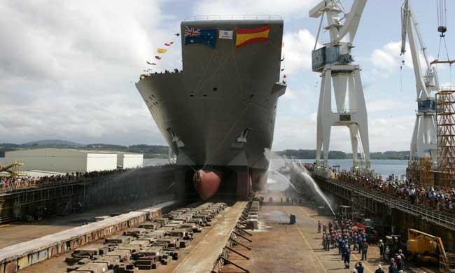 El sector de la costrucción naval necesita una alternativa. Y la necesita ya