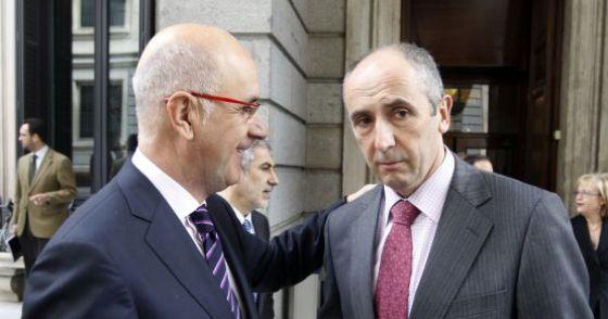 """La """"Troika"""" -FMI, BCE y Berlín- gobernando en Madrid, Barcelona y Bilbao esa es la independencia que nos proponen CiU y PNV, ese es su verdadero """"patriotismo""""."""