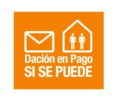 Emblema de la campaña de recogida de firmas contra los desahucios, que recibió el apoyo de 1,5 millones de ciudadanos.