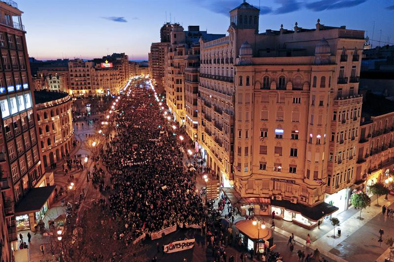 La Marea Ciudadana colapsa 80 ciudades con su protesta