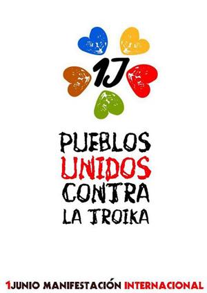 El 1 de junio, todos contra la Troika