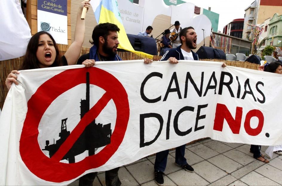 El gobierno defiende los intereses monopolistas de Repsol frente a los intereses de la mayoría de los canarios