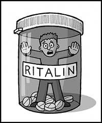 """El medicamento les hace callar, silencia los síntomas, pero no resuelve el problema. El """"Ritalín"""" tiene en su composición anfetaminas que, curiosamente, actúan como tranquilizantes y moderadores de la conducta, Primera contradicción médica que urge investigar"""