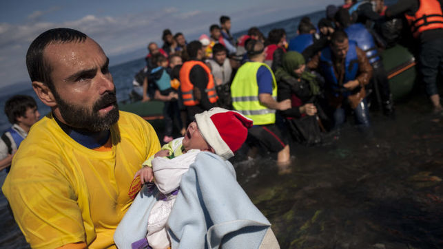 Todos esas personas no han muerto simplemente ahogadas. No, han sido asesinadas.