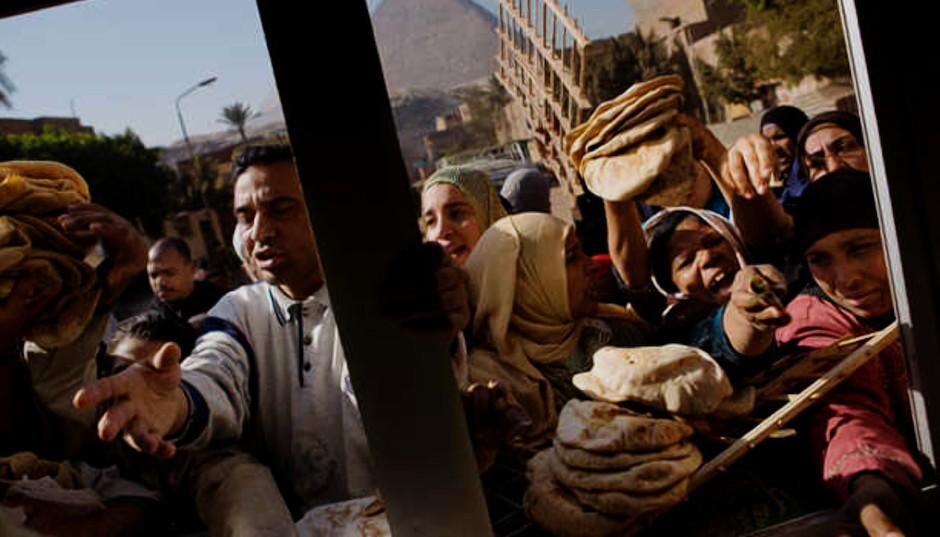 Egipto clama por el pan