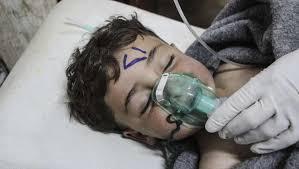 Siria: más de 100 muertos en un ataque con armas químicas.