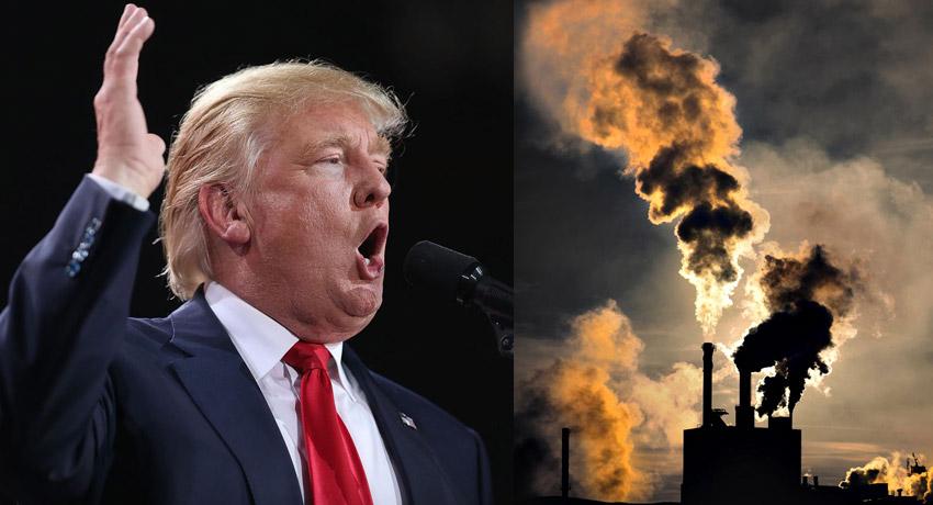 Trump le declara la guerra al medio ambiente
