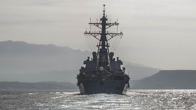 EEUU ataca Siria desde Rota