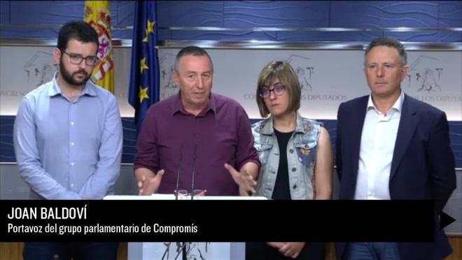 Compromís retira el apoyo a la moción de censura de Podemos