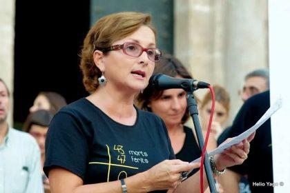 Rosa Garrote es Presidenta de la Asociación de Víctimas del Metro del 3 de Julio