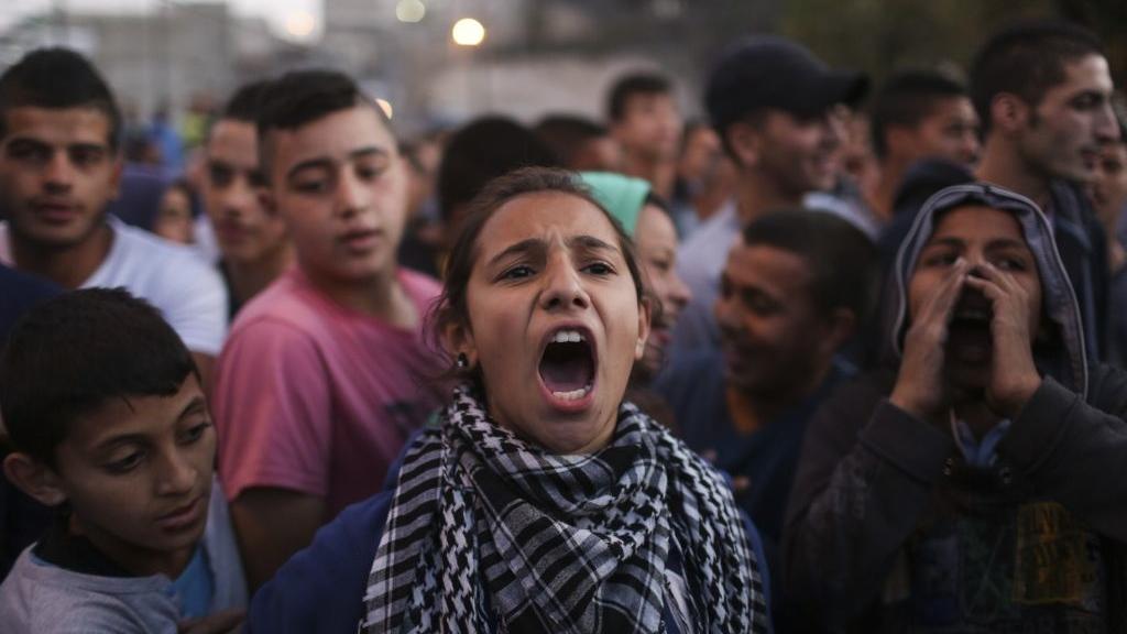Olor a intifada en Jerusalén