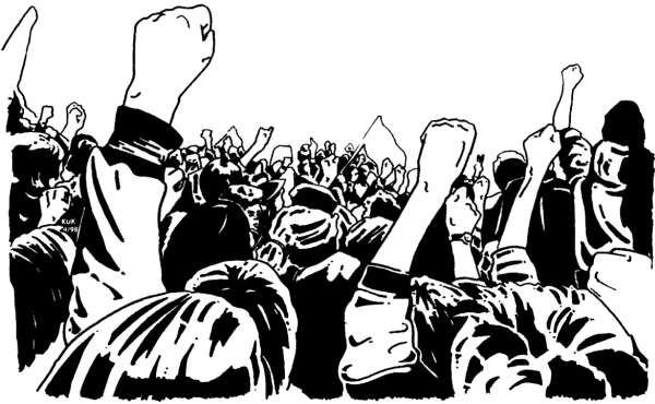 ¡Derecho de autodeterminación, SÍ! ¡Imposiciones antidemocráticas y división, NO!