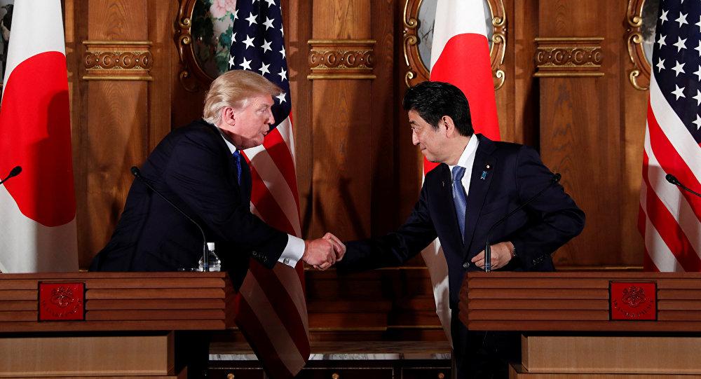 Gira asiática de Donald Trump