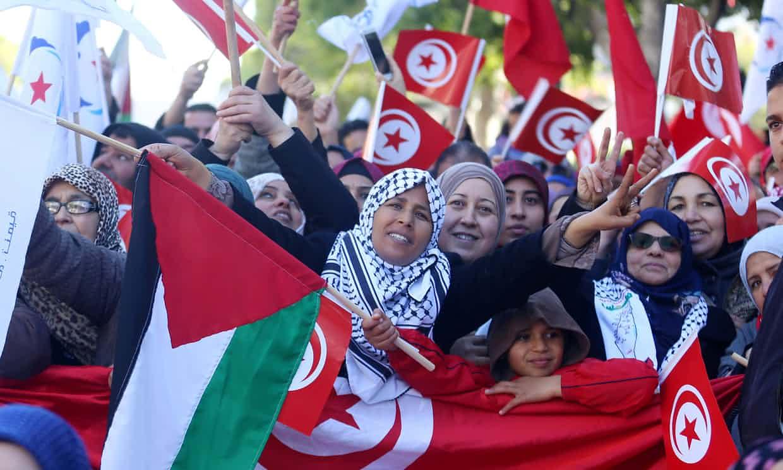 Protestas en Túnez tras 7 años de la Primavera Árabe