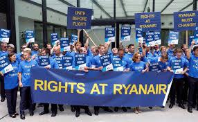 Ryanair en lucha