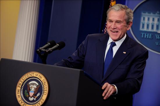 La manzana dorada de Bush