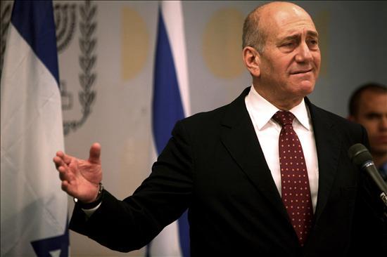 (EFE) Ehud Olmert, primer ministro israelí y máximo responsable del ataque a Gaza