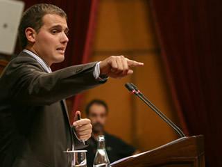Albert Rivera. Presidente de Ciudadanos