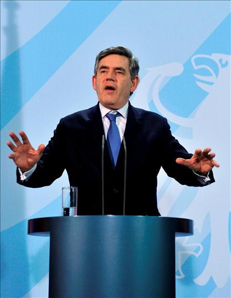 (EFE) Gordon Brown, Primer Ministro de Reino Unido