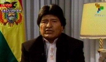"""El mandatario boliviano: """"Esta Constitución busca la unidad, respetando nuestra diversidad"""". (Foto: TeleSUR)"""