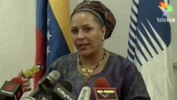 La senadora Piedad Córdoba, artífice de la liberación de numerosos rehénes de las FARC. (Foto: TeleSUR)
