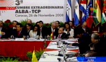 Foto de la anterior cumbre del ALBA (Foto: TeleSUR)