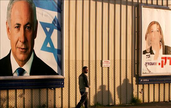 Netanyahu promete hacer de su mandato una cruzada para derrocar a Hamás. Livni se postula como la única capaz de ponerse en sintonía con la línea de la Casa Blanca. Quedan sólo diez días. EFE