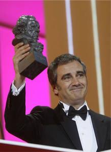 Javier Fesser en la Gala de los Goya