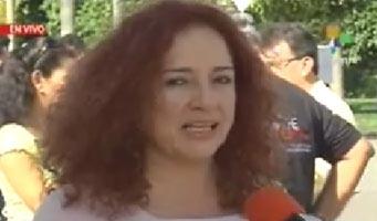 Lilia Solano, miembro del Movimiento Colombianos por la Paz. (Foto: TeleSUR)