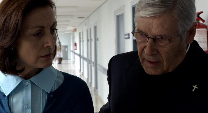Jordi Dauder en una imagen de la película con Carmen Elías