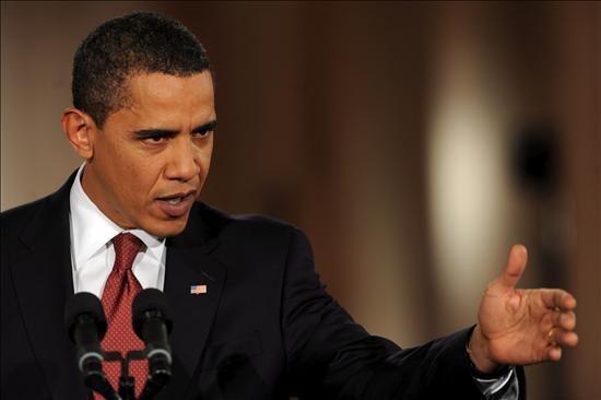 El presidente de EEUU, Barack Obama, habla de la votación en el Senado sobre el plan de 827.000 millones de dólares. EFE