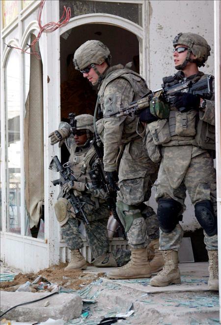 Soldados de EE UU. (EFE)