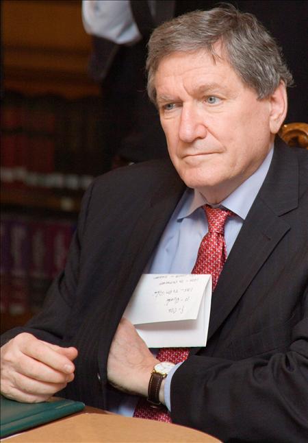 El enviado especial de Estados Unidos a Afganistán y Pakistán, Richard Holbrook.(EFE)