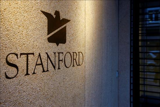 El logo de Stanford Group (Suisse) AG, la única filial de Stanford Group en Europa.(EFE)