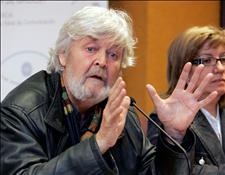 Xose Manuel Beiras, ex líder del BNG y hoy cabeza de la corriente crítica Encontro Irmandiño (Foto. EFE)