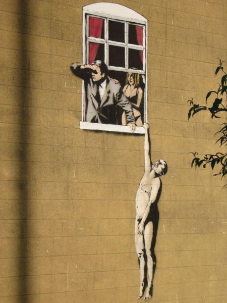 Banksy, el rebelde desconocido
