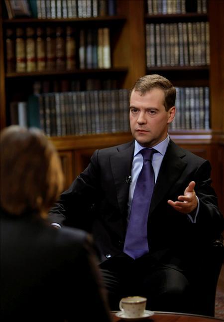 El presidente de Rusia, Dmitri Medvedev. EFE