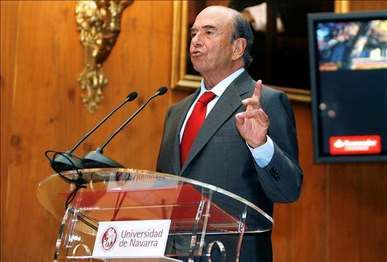 Emilio Botín, presidente del Banco Santander.