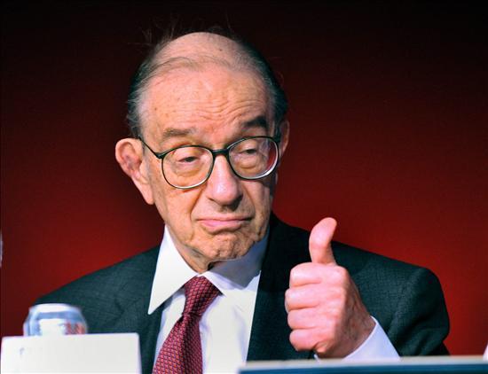 El ex presidente de la Reserva Federal norteamericana, Alan Greenspan. Estafador y profeta. EFE