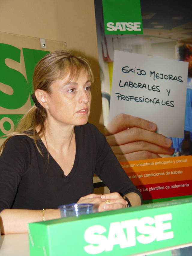 Entrevista a Mª José García - SATSE
