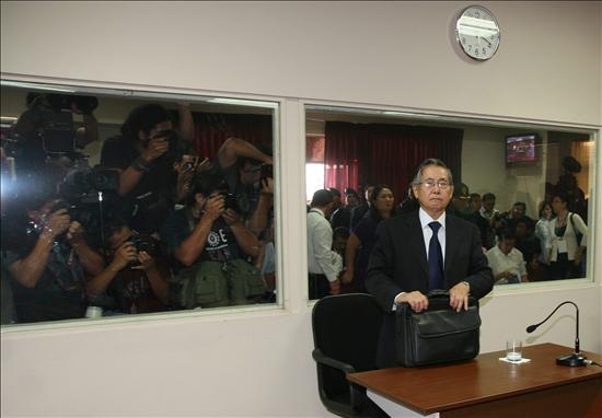 (efe) Fujimori ante la justicia