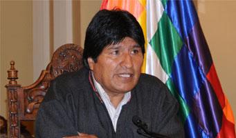 El presidente boliviano, Evo Morales. Foto: Agencia Bolivariana de Noticias