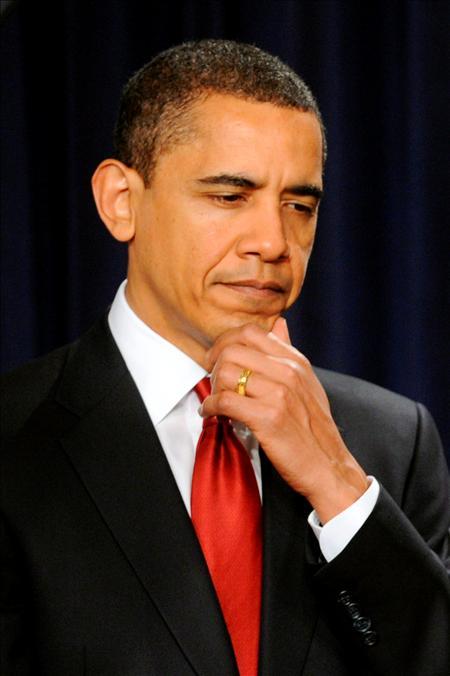 """""""Es hora de reflexionar y no de castigar"""", reitera el presidente estadounidense, convertido en los escasos tres meses que lleva en la Casa Blanca en un nuevo gurú de la cara amable del hegemonismo.(EFE)"""